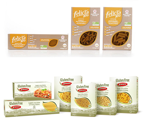 Gluten free pasta and products
